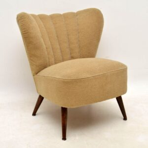 pair of vintage 1950's cocktail chairs
