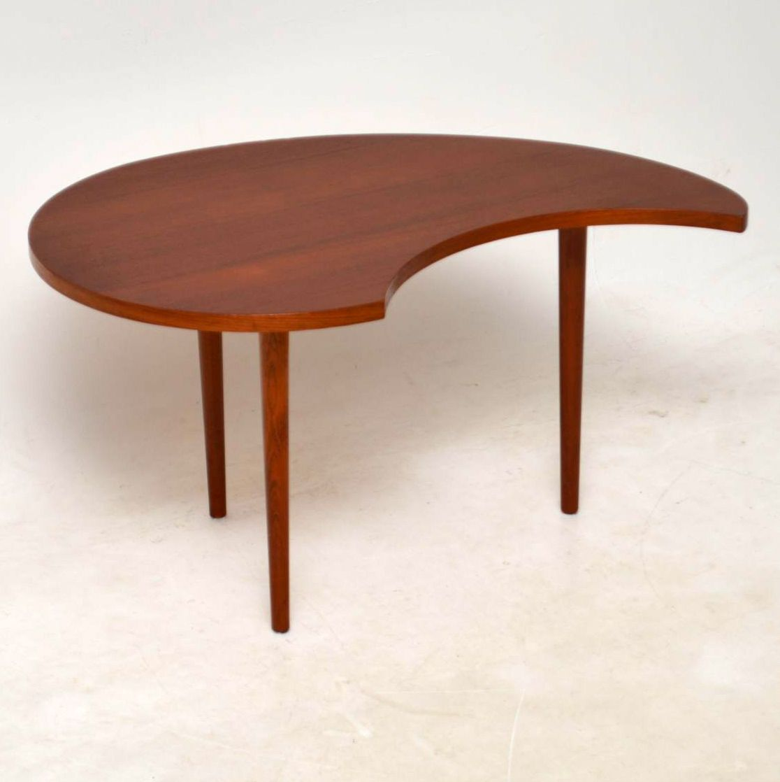 Vintage Teak Coffee Tables: 1960's Danish Teak Vintage Coffee Table