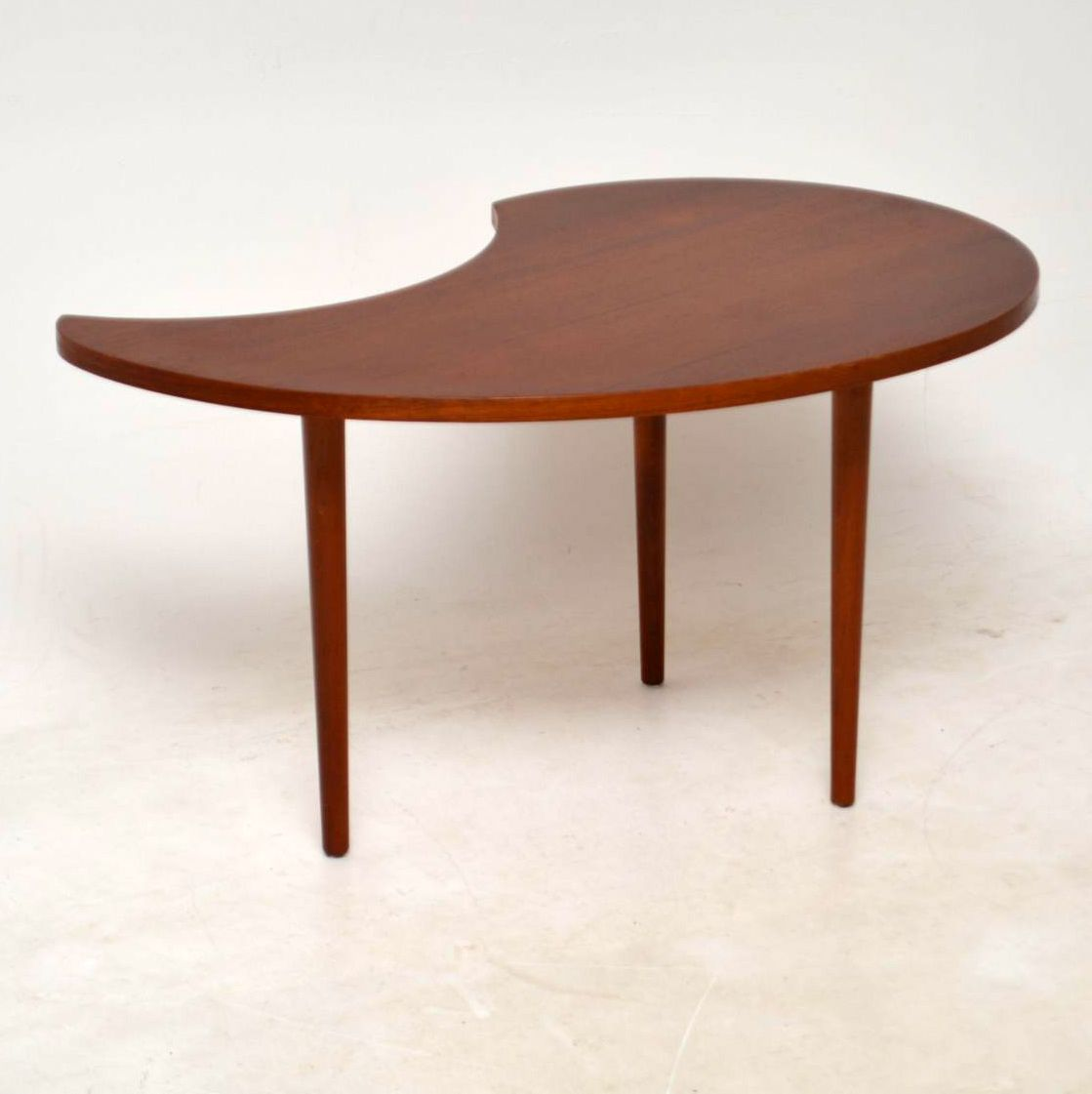Vintage Teak Coffee Table: 1960's Danish Teak Vintage Coffee Table