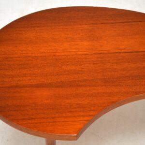 1960's Danish Teak Vintage Coffee Table