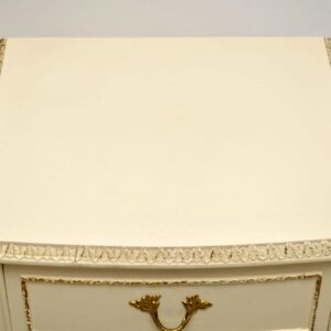 Pair of Antique French Style Painted Bedside Chests