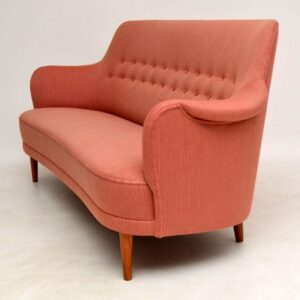 swedish vintage sofa samsas by carl malmsten
