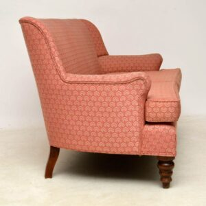 Antique Victorian Style Two Seat Sofa
