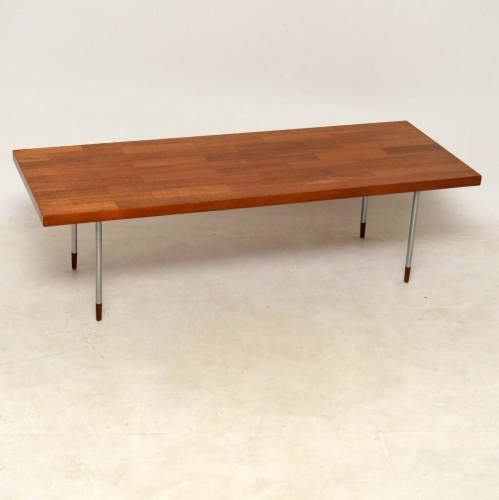 vintage rosewood coffee table by fristho