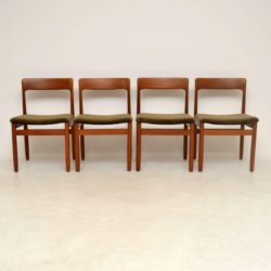 Set of 4 Vintage Teak Dining Chairs by Younger