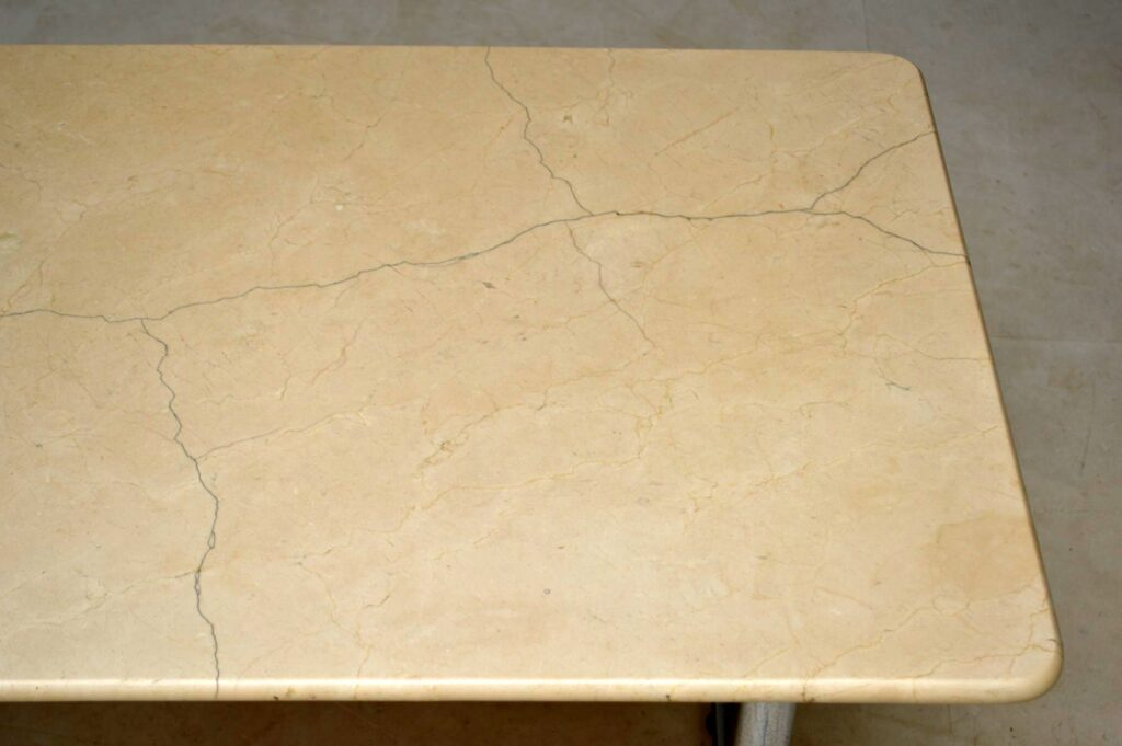 vintage marble top desk dining table
