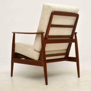 1960's Pair of Vintage Afromosia Armchairs