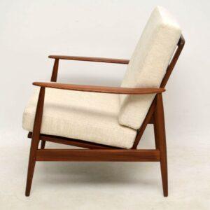 pair of danish vintage armchairs