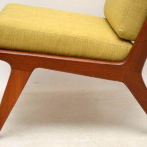 danish vintage teak armchair