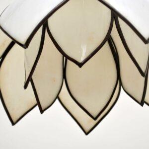 pair of vintage pendant ceiling lamps