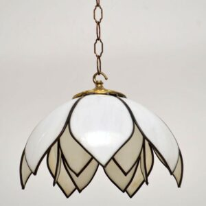 1960's Pair of Vintage Pendant Lamps