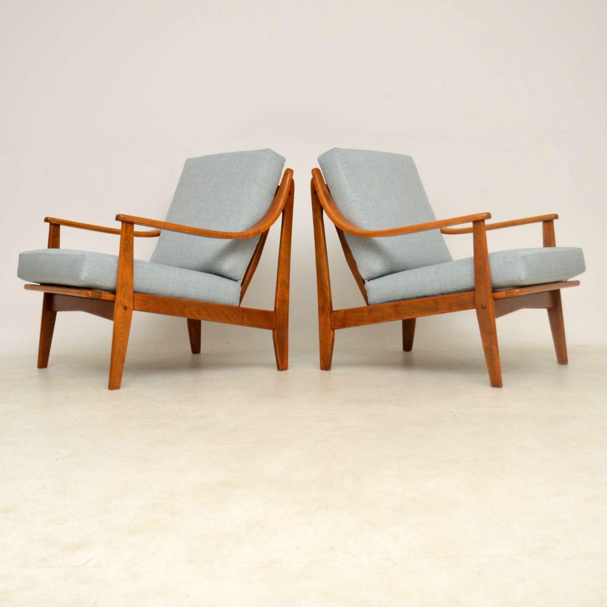 1960 S Pair Of Danish Vintage Armchairs Retrospective