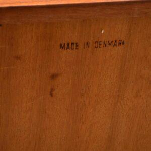 danish teak vintage bureau desk