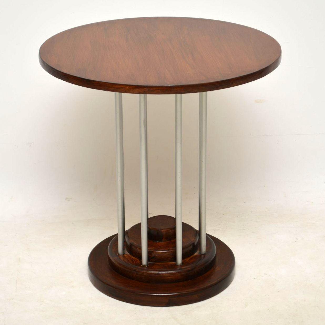 1970 S Vintage Side Table Retrospective Interiors