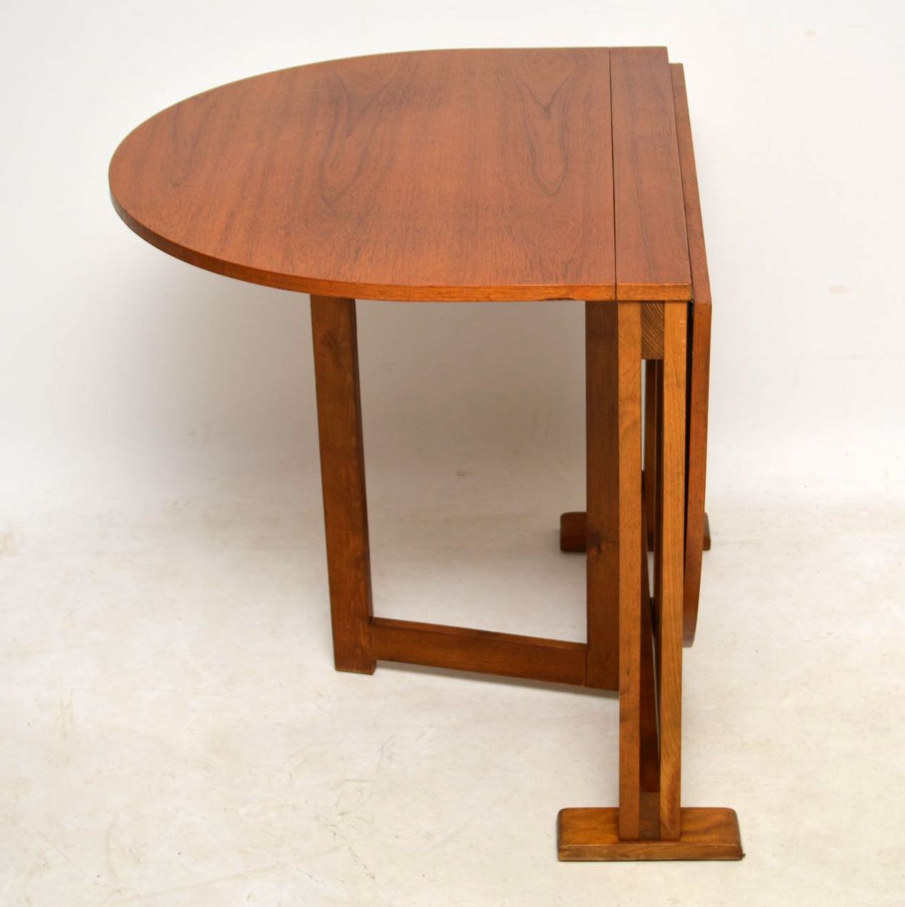 1960 S Teak Vintage Drop Leaf Dining Table Retrospective