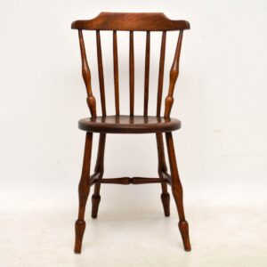 Antique Solid Elm Swedish Ibex Chair