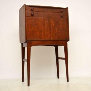 teak vintage bureau desk by younger