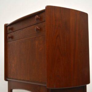 1950's Vintage Teak Writing Bureau by John Herbert for Younger