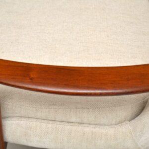 vintage danish rosewood armchair