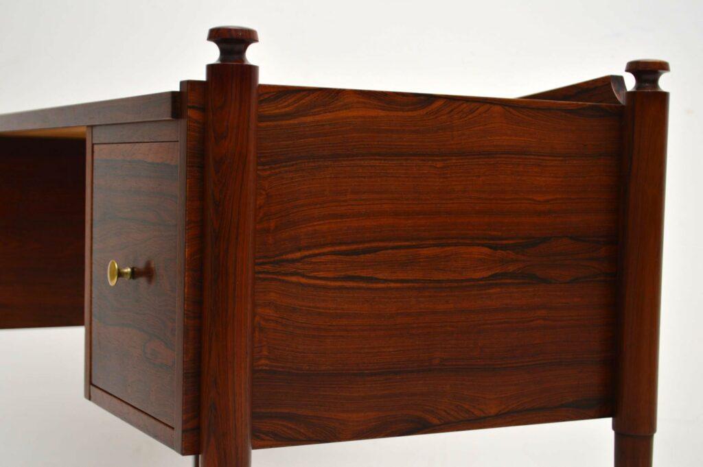 vintage danish rosewood desk
