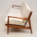 1960's Vintage Danish Teak Sofa by Kofod Larsen