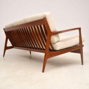danish teak vintage sofa kofod larsen