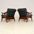 1960's Pair of Vintage Armchairs by De Ster Gelderland