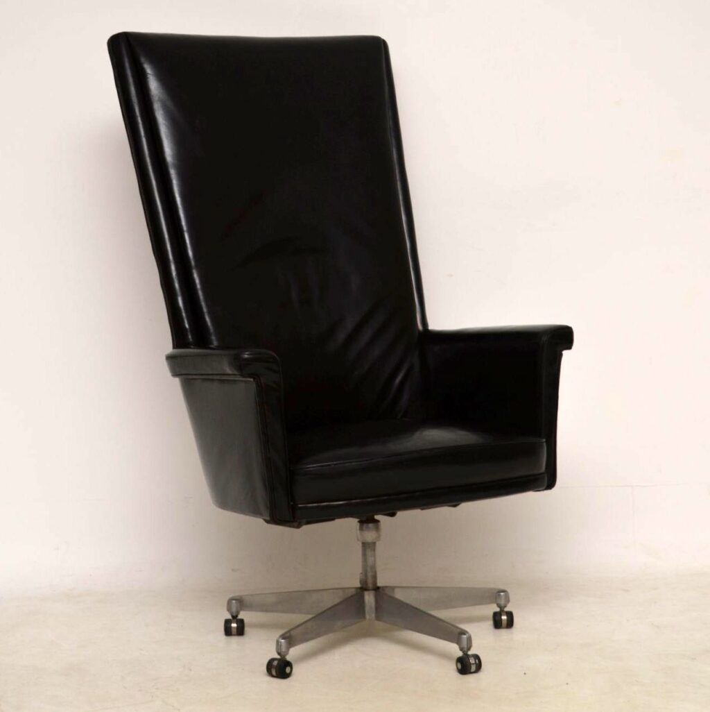 howard keith trend john home vintage leather desk chair
