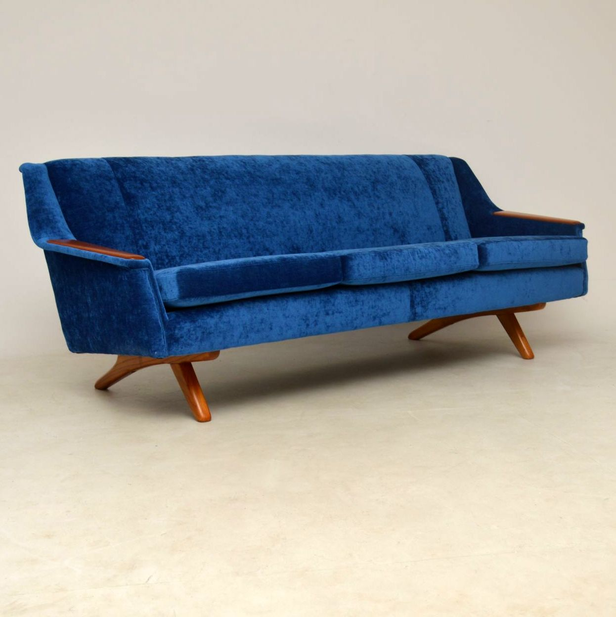 Genial 1960u0027s Vintage Sofa By Illum Wikkelso For Westnofa