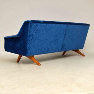 1960's Vintage Sofa by Illum Wikkelso for Westnofa