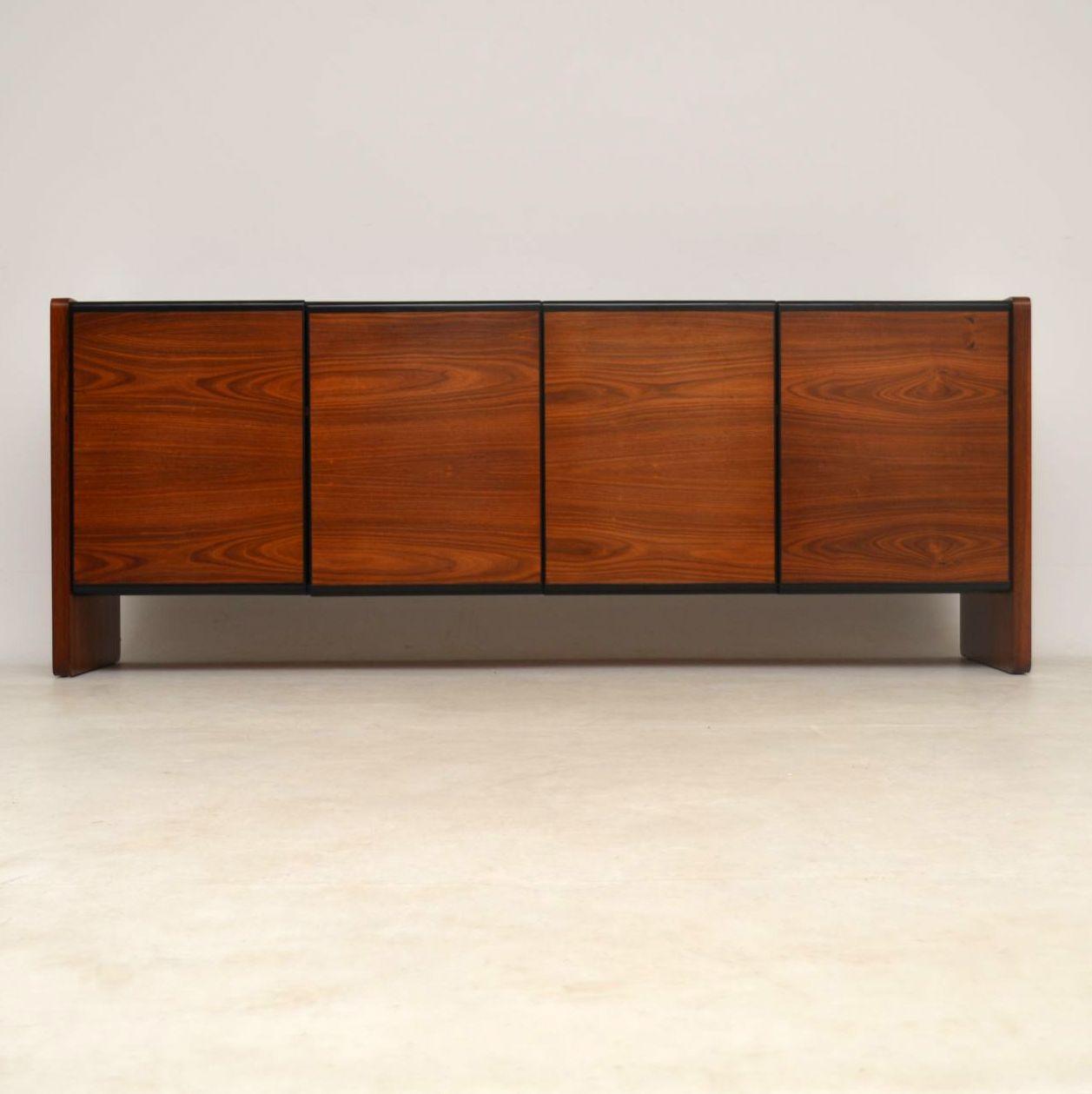1960's Vintage Danish Rosewood Sideboard; 1960's Vintage Danish Rosewood  Sideboard ... - 1960's Vintage Danish Rosewood Sideboard Retrospective Interiors