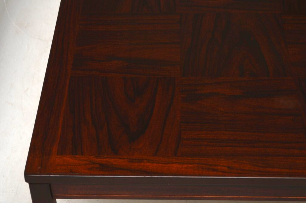 vintage rosewood coffee table