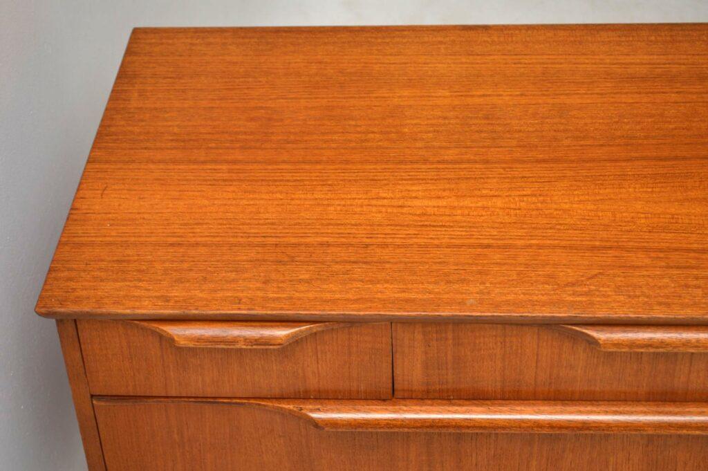 vintage teak mid-century sideboard