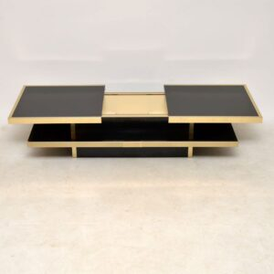 vintage italian coffee table willy rizzo