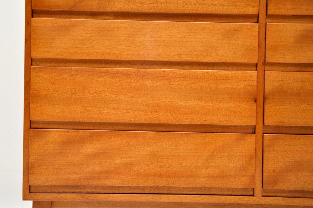 vintage danish chest of drawers