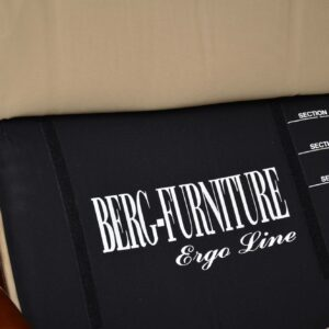 berg ergo line leather reclining danish armchair