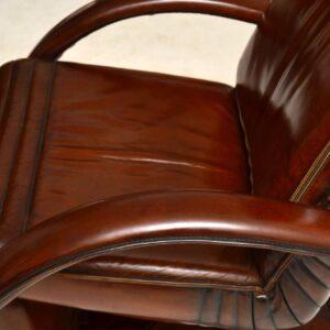 Danish Leather Reclining Armchair - Berg Ergo Line