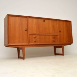 1960's Danish Vintage Teak Sideboard by Clausen & Son