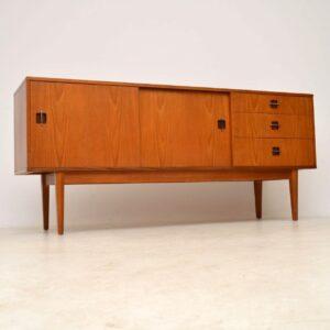 danish teak vintage sideboard