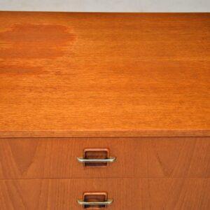 1960's Vintage Teak & Rosewood Sideboard