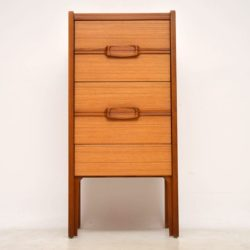 vintage teak danish chest of drawers
