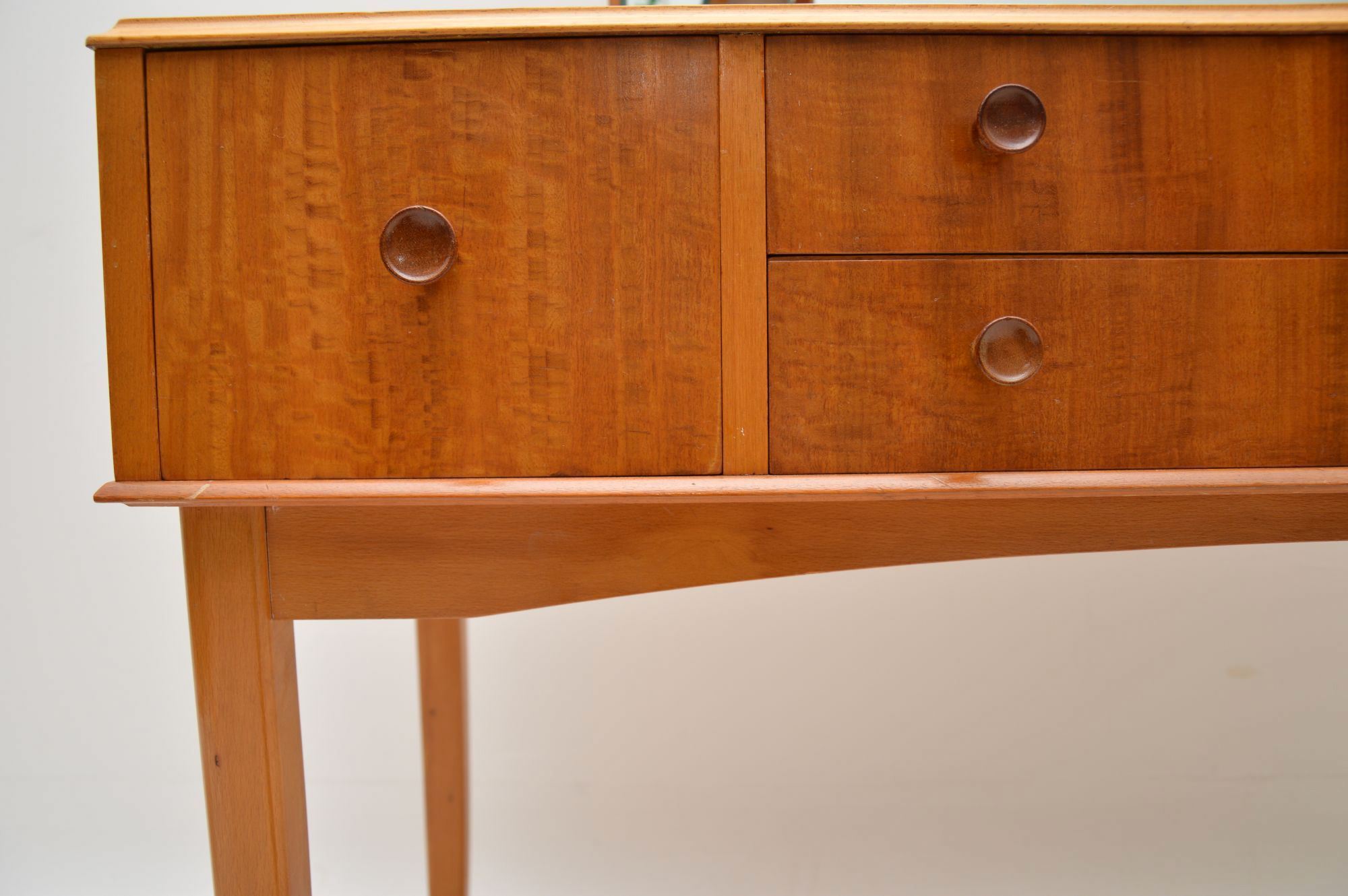 1950 S Satin Wood Dressing Table Amp Stool Retrospective