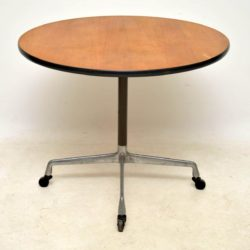 vintage eames herman miller table