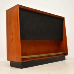 1960's Teak Vintage Drinks Bar by Archie Shine