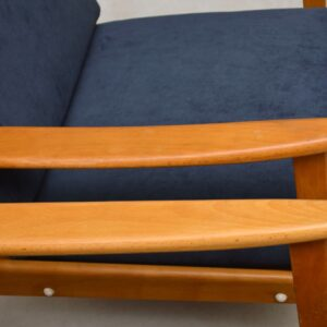 1960's pair of mid-century danish armchairs