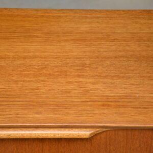 danish teak vintage chest of drawers