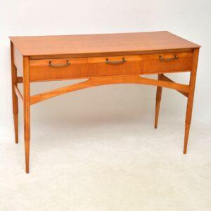 1950's Vintage Satinwood Desk