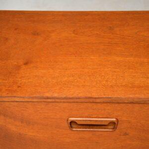 vintage teak danish sideboard