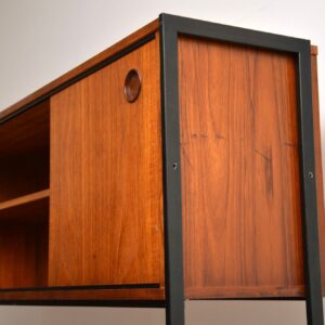 1960's Vintage Teak Sideboard / Wall Unit