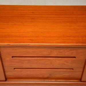 danish teak vintage sideboard by hp hansen